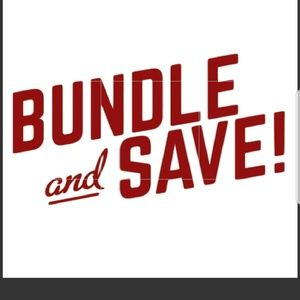 BUNDLE AND SAVE ON SHIPPING !!